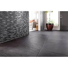 shop gbi tile u0026 stone inc gemstone black glass mosaic subway wall