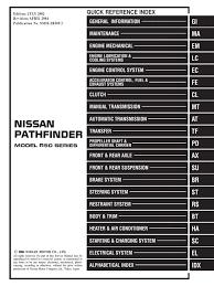 2003 nissan pathfinder service repair manual pdf airbag