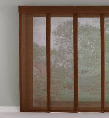 Sliding Panels For Patio Door Blinds Shades Wide Window Solutions Bali Blinds Shades