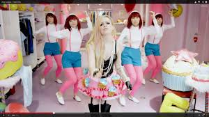 avril lavigne responds backlash u0027hello kitty u0027 video la times