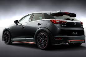 mazda cx3 2015 mazda to showcase miata cx 3 racing concepts at tokyo auto salon