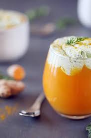 cuisiner curcuma frais velouté de carottes à l ananas et au curcuma frais chefnini