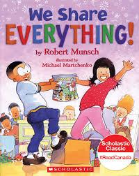 we share everything robert munsch michael martchenko
