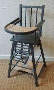 chaise haute bebe bois chaise haute transformable laquée combelle chaise haute en