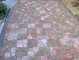 Interlocking Concrete Blocks Lowes by Patio Blocks Lowes Patio Outdoor Decoration