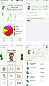 e gibalec mobile application to monitor and encourage physical