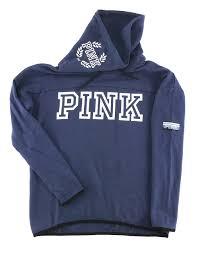victoria u0027s secret pink cowl neck pullover sweatshirt hoodie ombre