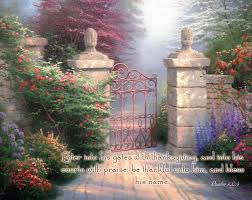 psalm 100 4 kjv enter into his gates with thanksgiving and into