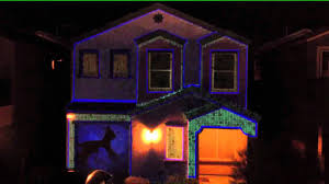 projection lights christmas lights projector on house christmas2017