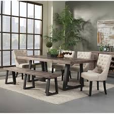 Dining Tables And 6 Chairs Gracie Oaks T J 6 Piece Dining Set U0026 Reviews Wayfair