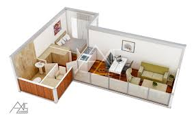 Container Floor Plans 3d Architectural Rendering Services Company 3d Architect Studio