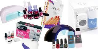 at home gel nail kits reviews the best diy gel nail brands