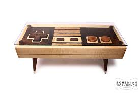 8 bit retro gaming table u2013 maple bohemian workbench