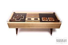 Gaming Coffee Table 8 Bit Retro Gaming Table U2013 Maple Bohemian Workbench