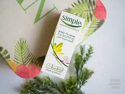 simple hydrating light moisturizer simple skincare now in philippines prices lush angel