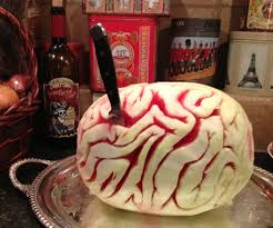 Halloween Brain Cake by Watermelon Brain 6 Steps With Pictures