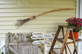 diary of a crafty lady diy witches broom from sticks