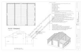 free garage plans sds part download the sample barn plan here gsdsx blueprints construction drawings