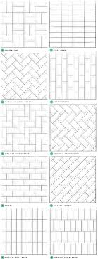bathroom pattern subway tile designs inspiration a beautiful mess tile design