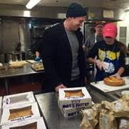 giving back on thanksgiving at st francis house
