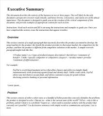 example executive summary template aipxipk incident report home