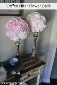 flower balls diy flower balls balls coffee filter pomander balls