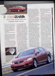 lexus gs 450h real world mpg official gs 450h reviews scans thread clublexus lexus forum