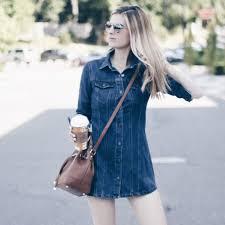 denim mini dress 3 ways pinteresting plans