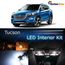 hyundai tucson kit 6x xenon white led lights interior package kit for 2017 hyundai