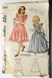605 best girls dress patterns images on pinterest vintage sewing