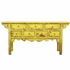 Green Console Table Inch 7 Drawer Console Table Antique Green