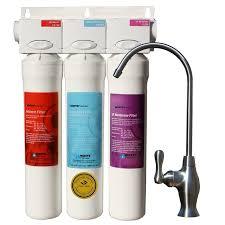 under sink filter system reviews watts premier 3 stage uf 3 filter pure under sink filtration system