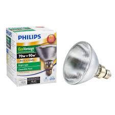 energy saving flood light bulb philips 90 watt equivalent par38 halogen dimmable indoor outdoor