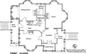 mansion floor plans carson mansion floor plan marvelous mansionfirstfloordrawing house