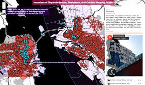 san francisco eviction map narratives of displacment history map anti eviction