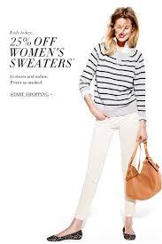 sweater sale at j crew beautifully seaside