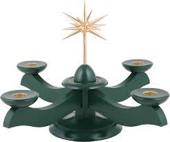 christmas holder candle holder width christmas and advent green 29 29 26 cm