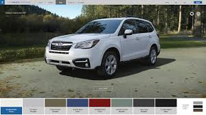 white subaru forester interior subaru forester colors options 2017 subaru forester