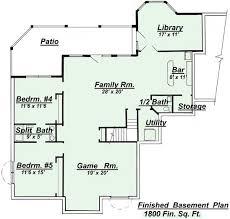 house plans walkout basement lofty idea walkout basement floor plans rustic mountain house plan