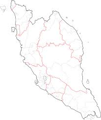 Map Of Malaysia Maps Of Malaysia Clipart