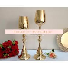 Gold Centerpiece Vases Candelabra Floral Stands Centerpieces Riser