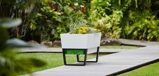 urban garden planters modern plant pots to create stylish garden