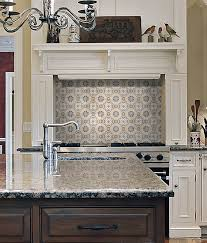 Kitchen Tile Backsplash Murals Kitchen Backsplash Tile Murals Wall Tile Murals Quatrefoil Tile