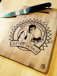 funny cutting boards no spoilers cutting board i engraved for my etsy shop gameofthrones