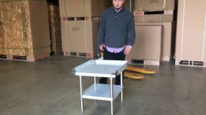 Commercial Kitchen Furniture Stainless Steel Work Prep Table Commercial Kitchen Restaurant