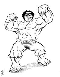hulk coloring pages coloringsuite