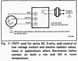 wiring diagrams honeywell three wire thermostat ac cool heating