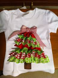 christmas tree ribbon shirt 20 00 via etsy craft fair ideas