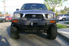 2002 toyota tacoma front bumper bentup front bumper finished ttora forum