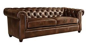 abbyson living bradford faux leather reclining sofa dark brown amazon com abbyson foyer premium italian leather sofa kitchen dining